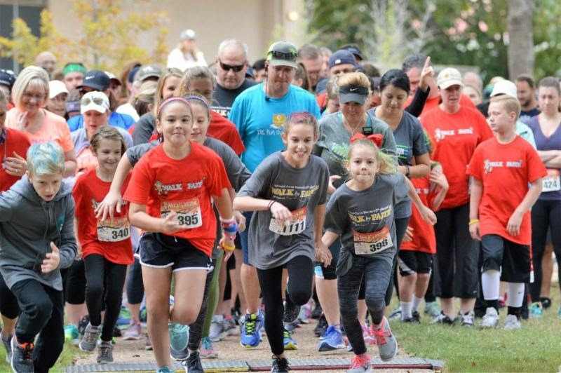 Walk by Faith 5K Race/Walk celebrates 10th year with a goal of raising $250K